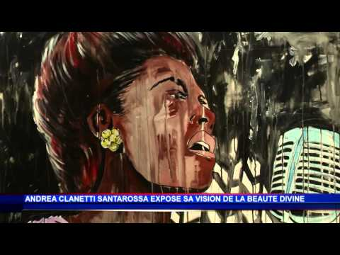 Andrea Clanetti Santarossa livre sa définition de la « Beauté divine » à la Galerie l'Entrepôt