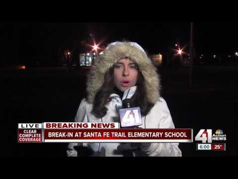 Santa Fe Trail Elementary broken into overnight