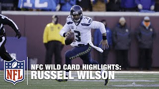 Russell Wilson Highlights (NFC Wild Card) | NFL