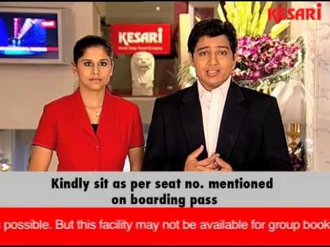 KESARI PRE-DEPARTURE INFO - AIRPORT FORMALITIES (HINDI)