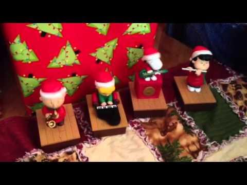 Hallmark Musical Charlie Brown Figurines
