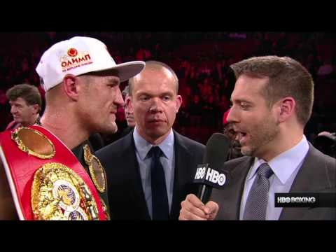 Sergey Kovalev Post-Fight with Max Kellerman and Adonis Stevenson (HBO Boxing)