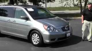Certified Used 2009 Honda Odyssey EX-L for sale at Honda Cars of Bellevue...an Omaha Honda Dealer!
