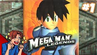 MEGA MAN RPG   Mega Man Legends #1   ProJared Plays