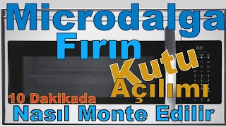 MİKRO DALGA FIRIN NASIL MONTE EDİLİR  / ANKASTRE MİKRODALGA FIRIN
