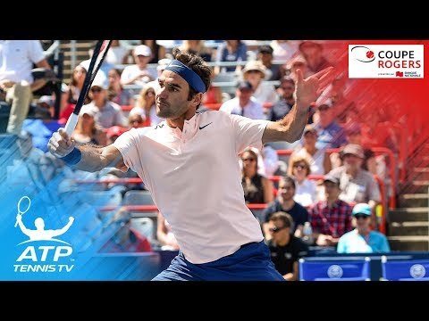 Federer, Monfils In Day 3 Best Shots - Coupe Rogers Montreal 2017