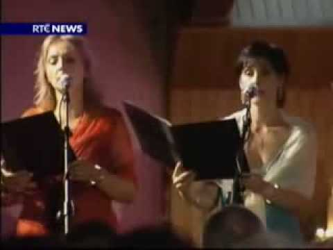 Enya sings in choir at home in Gweedore