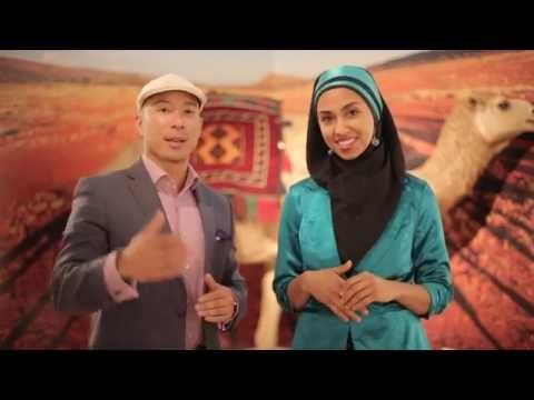 Chinese guy speaks Oromo and Oromo girl speaks Arabic