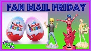 Miraculous Ladybug Kinder Surprise!!!! Fan Mail Friday