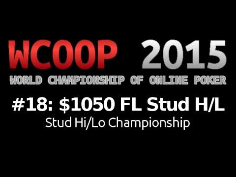 [WCOOP 2015] Event #18: $1,050 FL Stud H/L {Championship}, $50K Gtd
