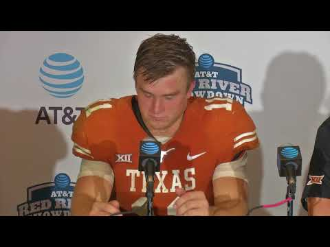 Texas postgame press conference [Oct. 14, 2017]