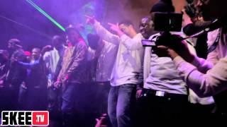 "Nipsey Hussle, Drake, YG ""The Motto Remix"" live TMC Tour Finale pt. 1 w/DJ Skee"