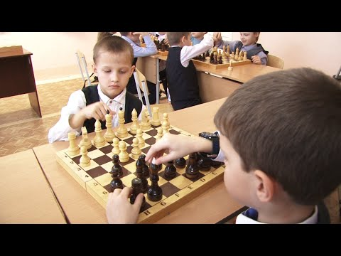 Копейских школьников учат играть в шахматы