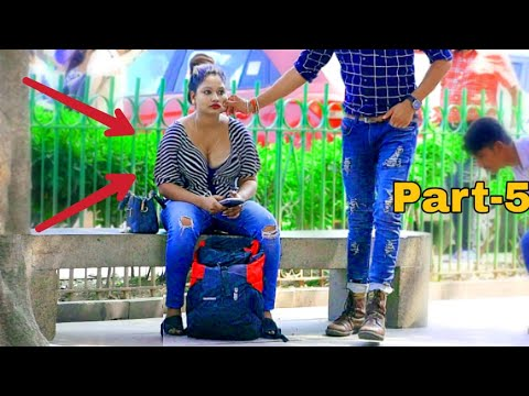 Pulling Strangers Cheeks Part-5 #pulling #Cheek #Prank #Allahabad #GirlPrank #BestPrank#sumit