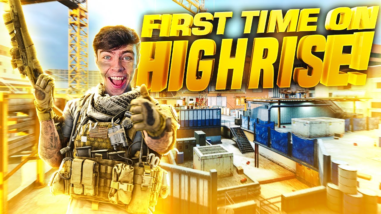 I absolutely love the NEW MAP in COD Mobile!! Highrise!!