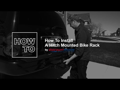 How To Install A Hitch Mounted Bike Rack