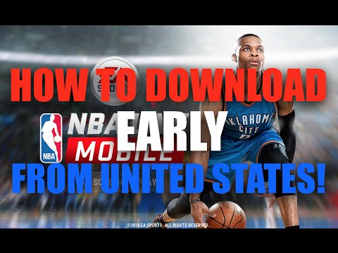 HOW TO DOWNLOAD NBA LIVE MOBILE FROM UNITED STATES!