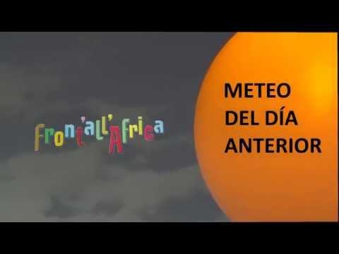 Front'All'Africa - Meteo del dia anterior n.2