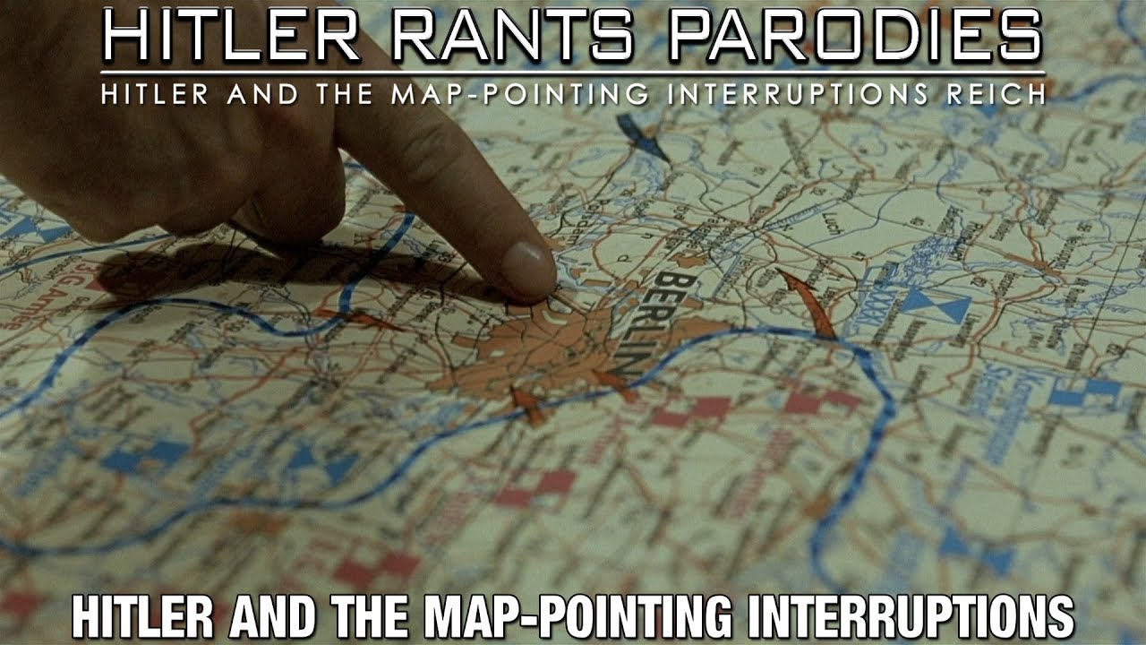 Hitler and the map-pointing interruptions II