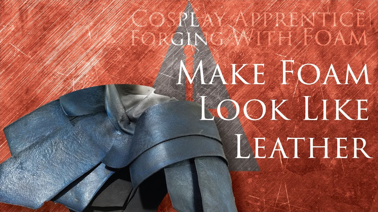 How to Make Craft Foam Look Like Leather