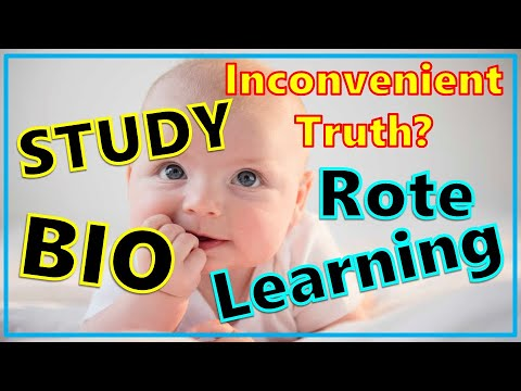 Rote Learning for Biology? To be or not to be?