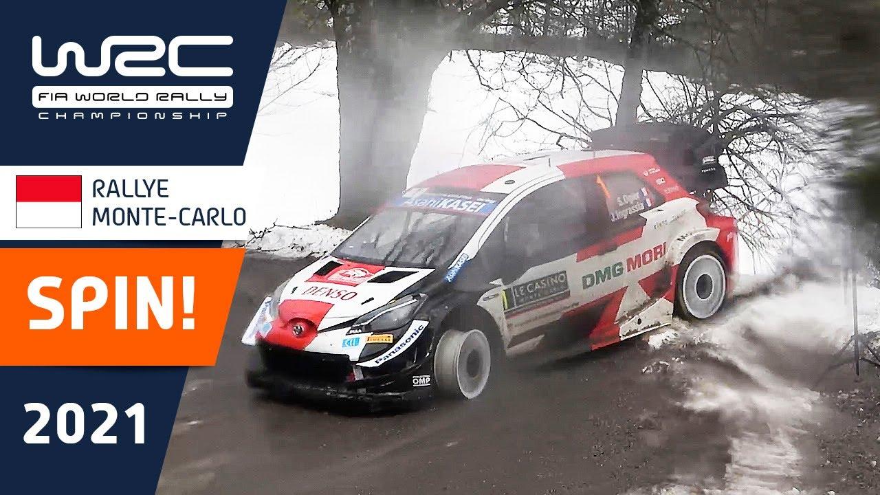 WRC - Rallye Monte-Carlo 2021: SPIN Ogier