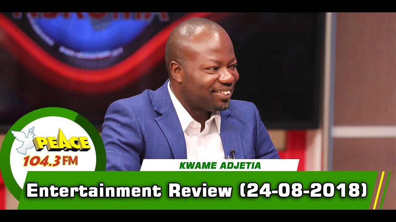 ENTERTAINMENT REVIEW ON PEACE 104.3 FM (24/08/2019)