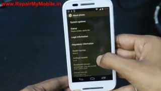 Update Moto E  to Android 5.0.2 Lollipop ROM