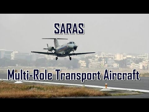 SARAS: Indigenous Multi Role Transport Aircraft | NAL | HAL | DRDO