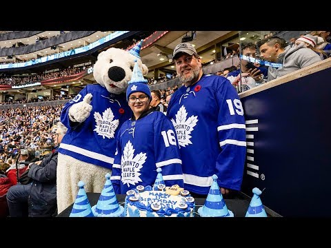 Ron Verb - #GoodNews: Hockey Team Saves 11-Year-Old Fan's Birthday