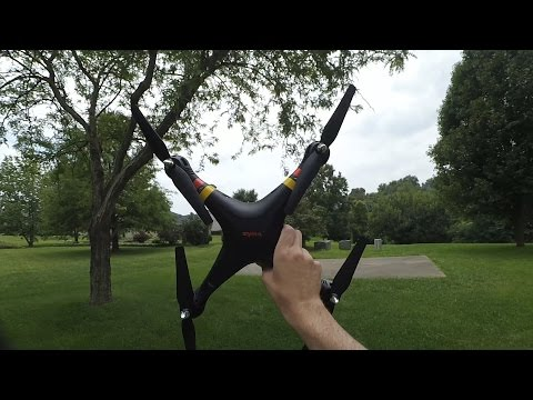 Syma X8C Venture Quadcopter Maiden Flight!
