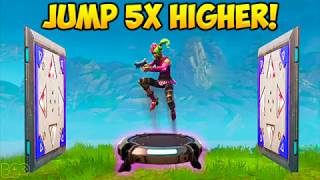 HOW TO JUMP 5X's HIGHER ON LAUNCH PAD! - Fortnite Funny Fails and WTF Moments! #221 (Daily Moments) thumbnail