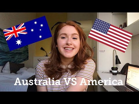 DIFFERENCES BETWEEN AMERICA VS AUSTRALIA