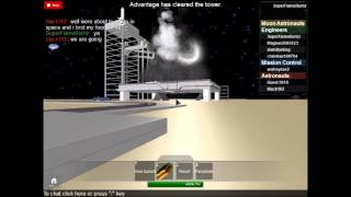 Roblox Gameplay- Pinewood Space Shuttle Advantage Part 1