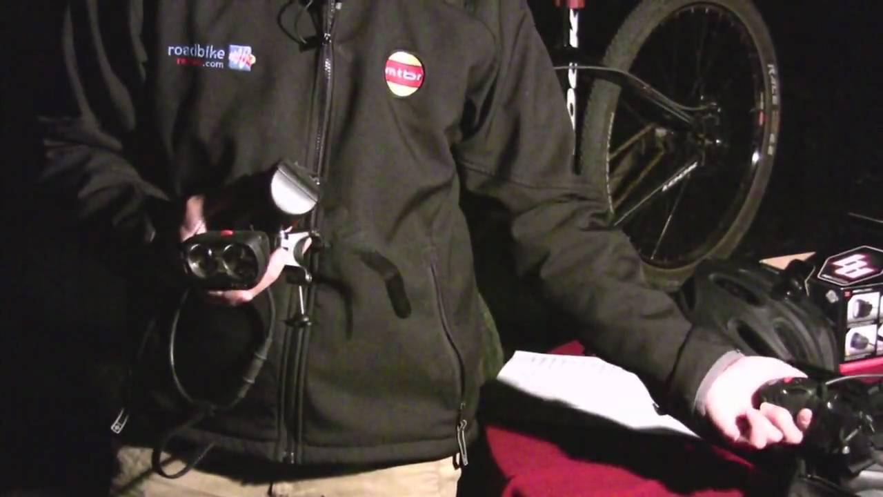 2010 MTBR Lights Shootout - NIte RIder Pro 600 & 1200 ...