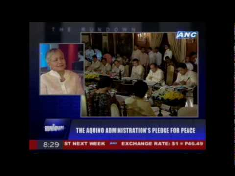 Sec. Teresita 'Ging' Deles on THE RUNDOWN July 1, 2010 (Part 1 of 3)