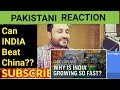 Pakistani Reacts On | Why is India growing so fast? | CNBC Explains