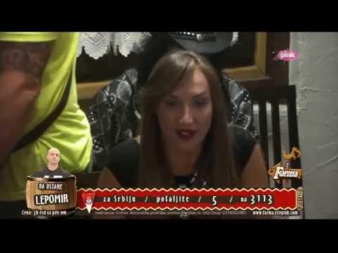 Goga Sekulic i Tamara - Igra istine - Farma 6 - (TV Pink 2015)