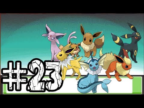 Lets Play Pokemon: SoulSilver - Ep.23 - Eevee Evolves!