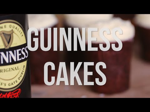 Miniature Guinness Cakes - The 60 Second Chef