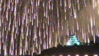 2016/07/17 唐津城花火大会 均整のとれた見事な2尺玉が唐津の夜空に咲...