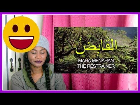 Asmaul Husna اسما الحسنا   Hijjaz with (Malay & Eng Translation) | Reaction