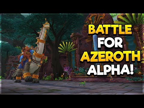 (VOD)Battle for Azeroth Alpha - Leveling the UH DK!