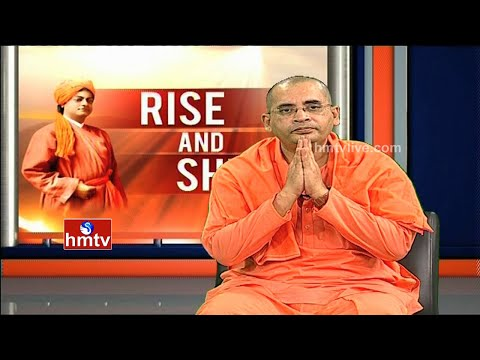 Rise and Shine   Swami Bodhamayananda On Vivekananda Lessons    Episode 1   HMTV