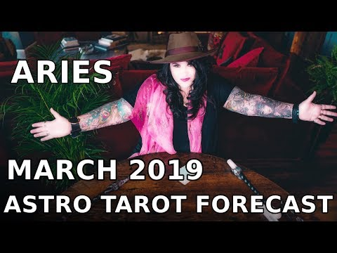 Aries Monthly Astro Tarot Forecast March 2019