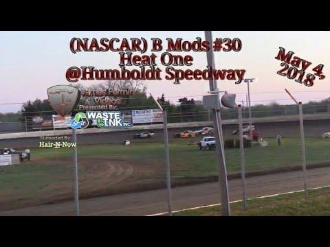(NASCAR) B Mods #30, Heat 1, Humboldt Speedway, 05/04/18