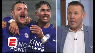 'PIN IT UP!' Craig Burley laughs off Leicester City's expected goals stats   Premier League