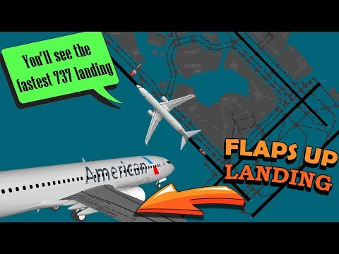 REAL ATC American B738 forced to land WITHOUT FLAPS AT JFK!