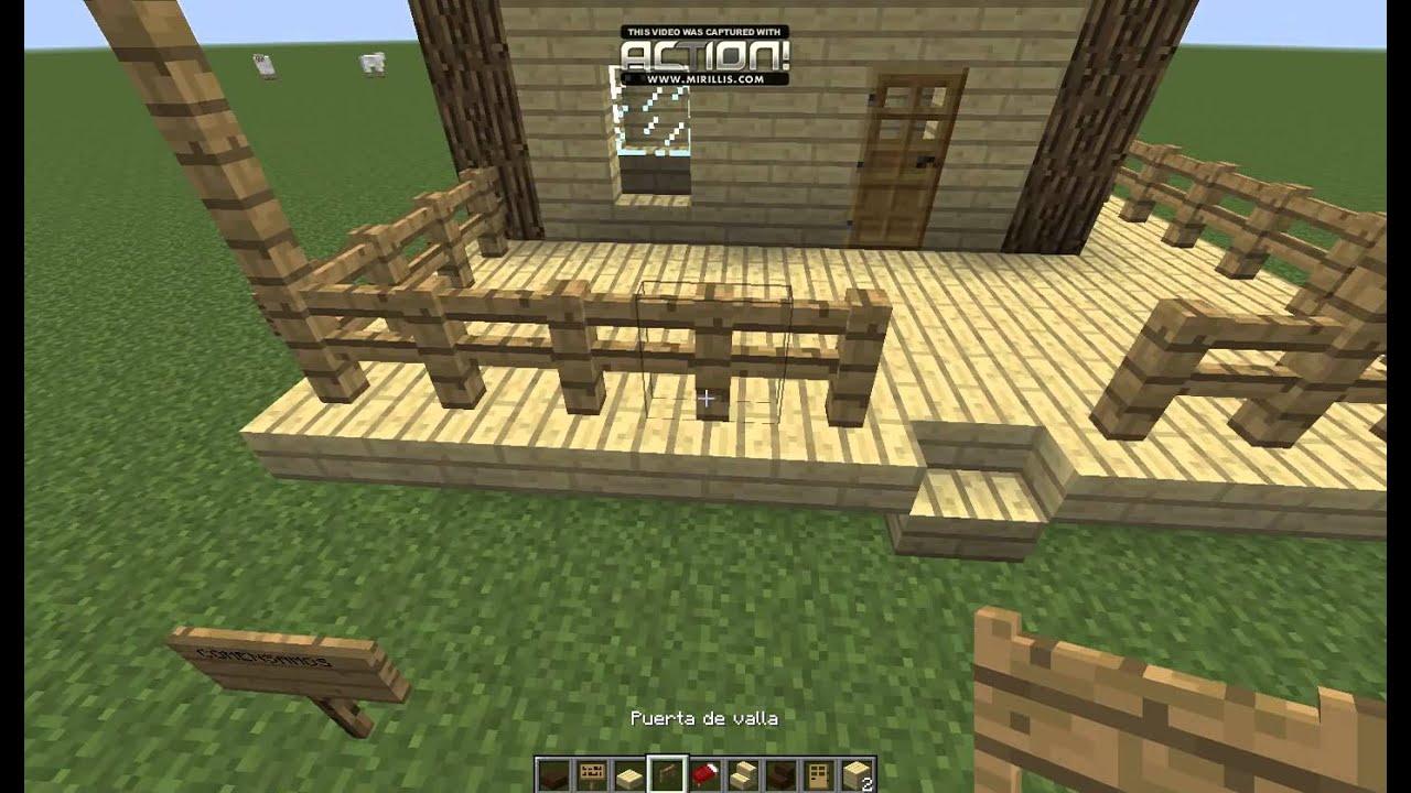 Tutorial como hacer una casa bonita y sencilla en - Como construir tu casa ...