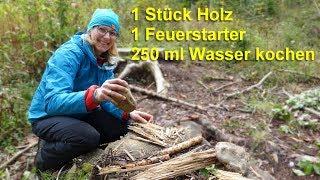 Waldhandwerk One Stick Fire Challenge